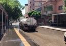 Ramazan Tuncer - Sokaklar boş kalınca Nurdağı belediyesi...