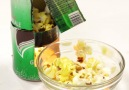 Recycled Soda Can Popcorn Maker