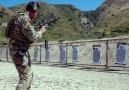 Rifle to handgun transition drills.