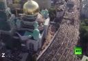 Rusya moskova'da bayram namazı