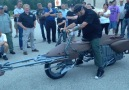 Ryan and Horny Mike fire up the Vintage Works Custom Motorcycle