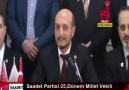Saadet Partisi Bursa MilletVekili A.Adayları Açıklanıyor...