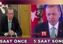 5 saat arayla iki farklı Erdoğan: Seçim bildirgesini okudum de...