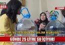Sadece Haber - Günde 25 litre su içen Necla teyze Facebook