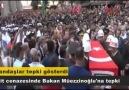 Sağlık Bakanı Mehmet Müezzinoğluna protesto