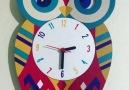 Sallanır Sarkaçlı Baykuş Duvar Saati... - Sokaktaki Hediyem