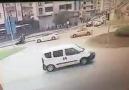 Samsun Atakumda feci kaza kameralara yansıdı