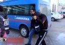 Samsun'da güldüren gözaltı