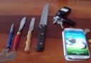 Samsung Galaxy S4 Dayanıklılık ve Ekran Testi