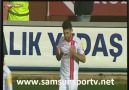Samsunspor 1-0 Boluspor Gol Adilovic (1)