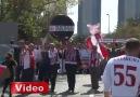 Samsunspor Taraftarları İstanbul'da TFF'yi Protesto Etti!