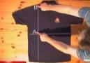 2 saniyede t-shirt nasıl katlanır?