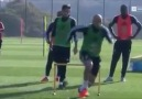 SAQ training and a small sided game to goal by Swansea City