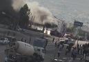 Satıcı petrolde ki yangın görüntüleri - Cizre Ajans Press