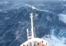 Scary waves of the sea...
