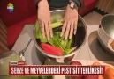 Sebze ve Meyvelerdeki Pestisit Tehlikesi!Tehlikeye böyle önlem alın!