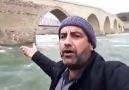 Şelale Gören adam Palu Köprüsünde-