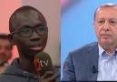 Senegalli öğrenciden büyük alkış alan söz