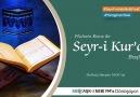 Seyr-i Kur'an Başlıyor.