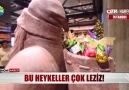 Show Ana Haber - BU HEYKELLER ÇOK LEZİZ! Facebook