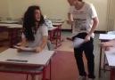 Sınav sonuçları açıklanırken