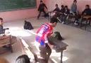 Sınıfı piste çeviren ilk okullular