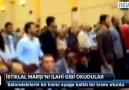 SKANDAL ! İSTİKLAL MARŞI'NI İLAHİ GİBİ OKUDULAR !!