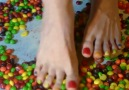 Skittles Candy Crush by Queen Eileen