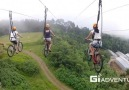 Sky Cycling at Eden Nature Park!!!