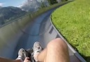 Slide with a view in Switzerland &