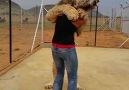 slow motion hug