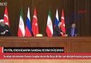 SOÇİde gerçekleşen zirvede Putin Erdoğanın sandalyesini düşürdü!