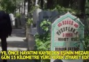 Sözcü Gazetesi - 10 yıldır eşinin mezarını her gün ziyaret ediyor