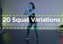 20 Squat Variations