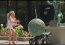 Statue Crushes Crying Baby Prank