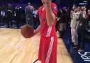 Stephen Curry's lefty 3! #NBAAllStar