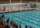 Su Altında 50 Metre Yüzerek Yarışı Kazananan Efsane Yüzücü