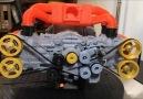 Subaru EJ20 motor modeli