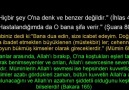 SUBHANALLAH, EŞİ VE BENZERİ OLMAYAN KİM.!!