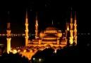 Sultan Ahmed caminde Mükemmel Yatsı ezanı