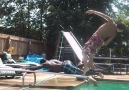 Summertime Diving Board Pool Fails