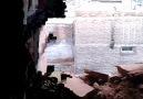 Sur'da eve düşen havan topu mermisi