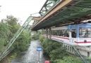 Suspension Railway in Wuppertal Germany by @timosha21 (YouTube)
