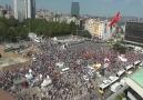 TAKSİM'DE POLİS HALKA BÖYLE SALDIRDI...