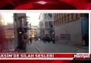 Taksim'de silah sesleri MUTLAKA IZLE & PAYLAS
