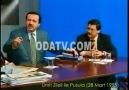 TAYYİP ERDOĞAN İLE MELİH GÖKCEK CANLI YAYINI TERK ETTİ, YIL 1995.