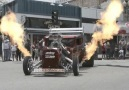 That's a mean flame breathing machine