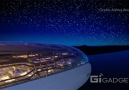 The Airbus Concept Cabin illustrates what the future of flight might look like.