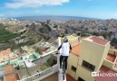 The crazy journey on the roof !!!