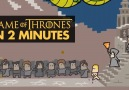 The history of Game of Thrones in 2 minutes. Red Medusa Studio